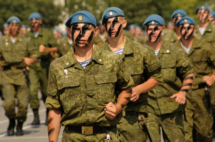 UNITS OF THE AIRBORNE FORCES AND MARINES WERE MOVED TO CRIMEA AND KRASNODAR TERRITORY