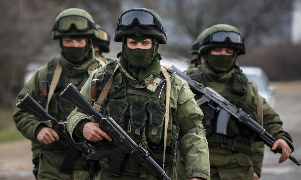 COMBAT TRAINING A CHECK FOR CRIMEA