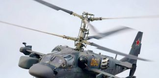 HELICOPTERS OF RUSSIA HOLDING ASSEMBLED FOUR PROTOTYPES OF SHIPBORNE HELICOPTERS KA-52K