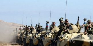 A SUDDEN CHECK OF COMBAT READINESS OF TROOPS CONTINUES IN THE ARMED FORCES