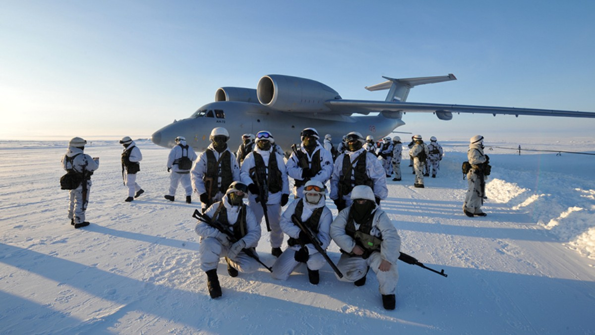 MILITARY STATUS ARCTIC INFANTRY WILL ATTACK ON QUADS