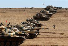 TURKEY PRESENTED A SHIELD TO SYRIA