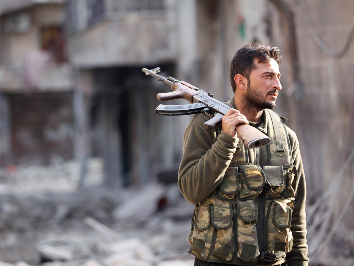 TRUCE IN SYRIA IS BREACHED BY THE IRRECONCILABLE ONES