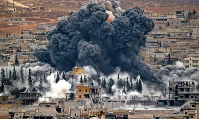 A MISTAKEN STRIKE OF AMERICAN COALITION IN SYRIA ON TROOPS OF BASHAR ASSAD UNDERMINES THE FRAGILE TRUST BETWEEN RUSSIA AND THE US