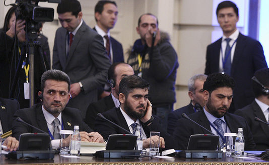 Opposition wedged into the Syrian truce