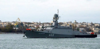 Russia reinforces the fleet in Syria